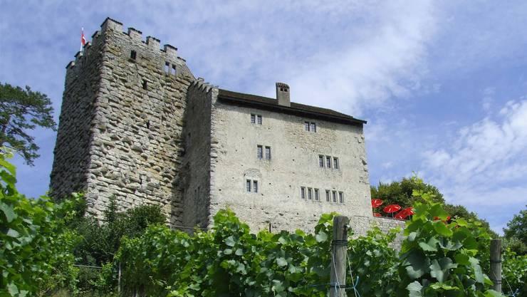 Schloss Habsburg gehört dem Kanton Aargau.