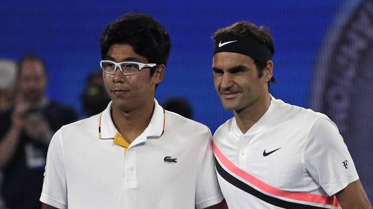 Im Halbfinal der Australian Open trifft Roger Federer heute Freitag ...