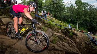 Nathalie Schneitter holt sich beim Crosscountry-Weltcup in Mont Sainte-Anne (Kanada) Weltcuppunkte