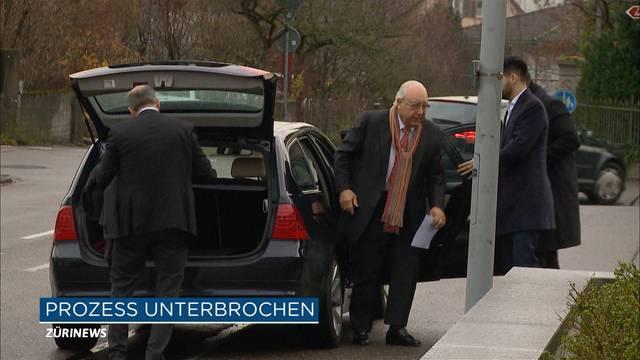Prozess gegen Dolder-Besitzer unterbrochen