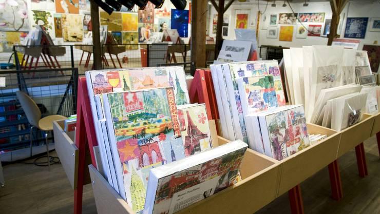 Der Kunst-Supermarkt im Haus des «Rotbuch-Verlags»