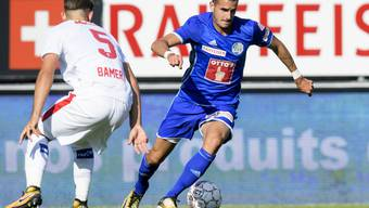 Daniel Follonier im letzten August bei einem Spiel gegen seinen Ex-Klub Sion