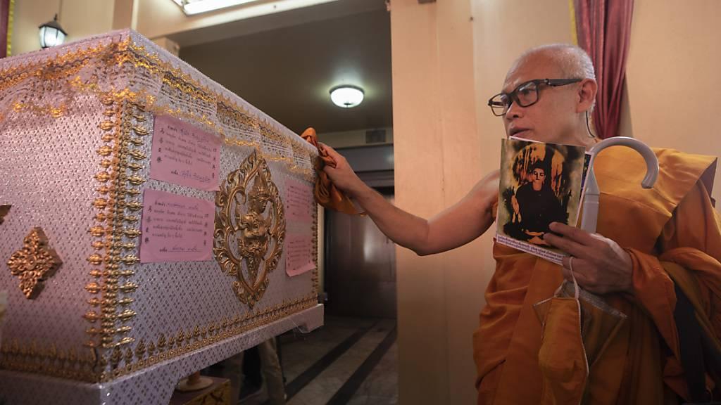 Einbalsamierter Mörder in Thailand nach Jahrzehnten eingeäschert