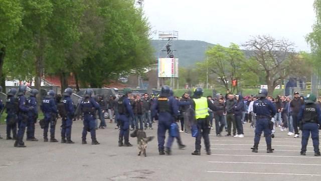 Die meisten Aarauer finden lobende Worte für Polizeieinsatz vor dem Match FCA-FCZ