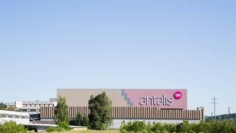 Gebäude des Papierhersteller Antalis an der Industriestrasse in Lupfig, am 26. Mai 2017.
