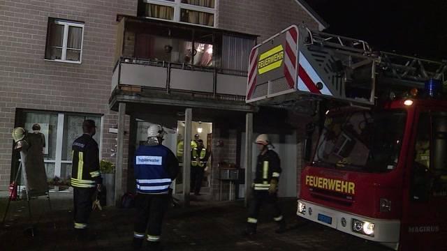 77-Jährige bei Hausbrand verletzt