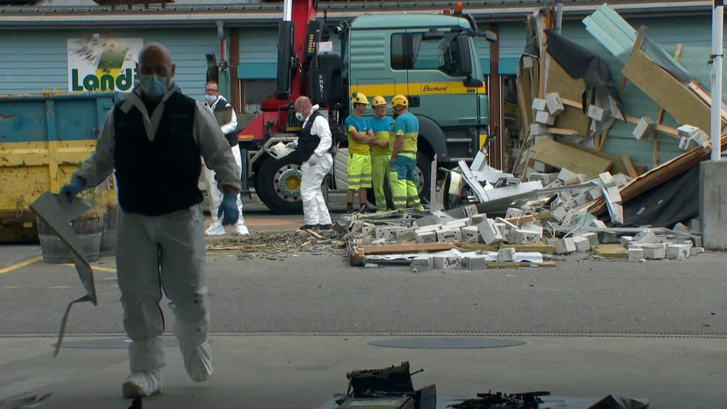 Hunderttausende Franken Sachschaden: Unbekannte sprengen Geldautomaten in Eglisau (ZH)