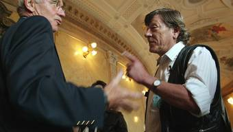 AKW abstellen, aber subito: Lobbyist Polo Hofer im Bundeshaus (Archiv)