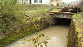 Unwetter in Sulz kostet ein Menschenleben.