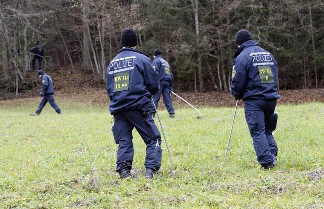 Polizei findet Torso einer Frau nahe der Schweizer Grenze