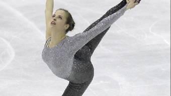 Carolina Kostner holt sich in Nizza den WM-Titel.