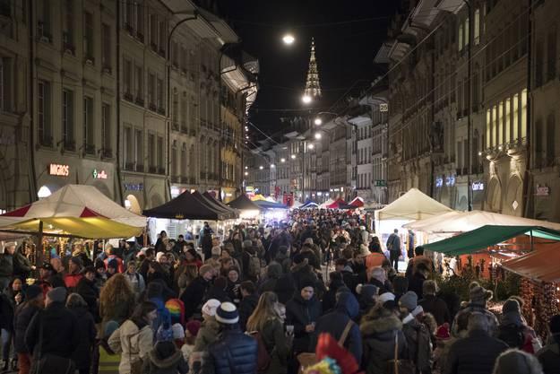Der Zibelemärit findet jeweils am vierten Montag im November statt.