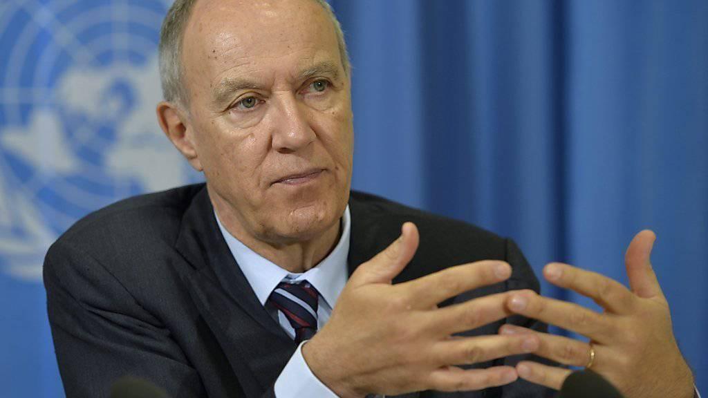 Francis Gurry, Chef der Weltorganisation für geistiges Eigentum (WIPO), mahnt die Staaten zu mehr Investitionen in Zukunftstechnologien.