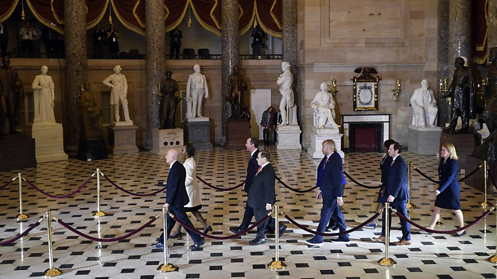 US-Senat kommt Donnerstag zu erster Impeachment-Sitzung zusammen