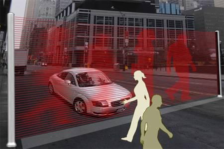 Die «Virtual Wall» von dem Designer Hanyoung Lee