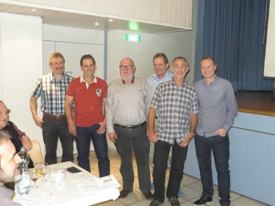 v.l.n.r.: Heiri Böll, Daniel Irniger, René Huggenberger, Peter Wurzer, Daniel Lienberger, Daniel Gfeller