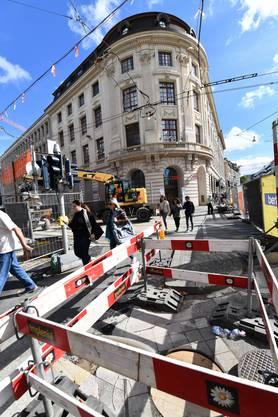 Die neue BVB-Baustelle am Bankverein sorgt für viel Chaos