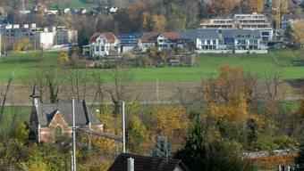 Hier wird künftig der neue Fussballplatz des FC Turgi zu stehen kommen.