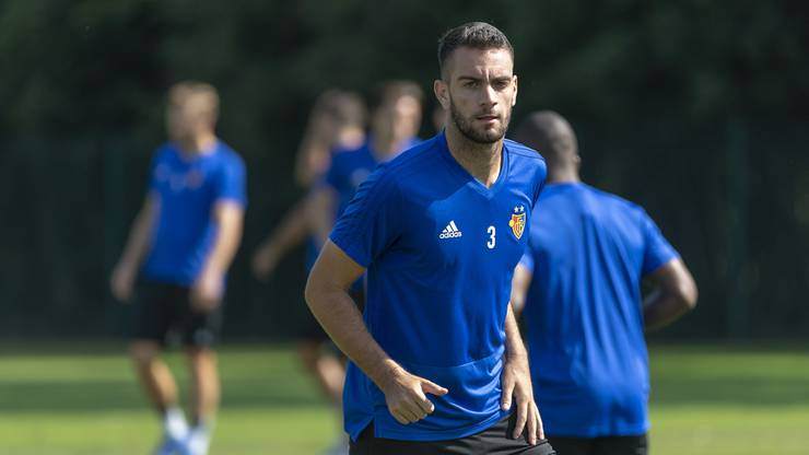 Konstantinos Dimitriou im Training.