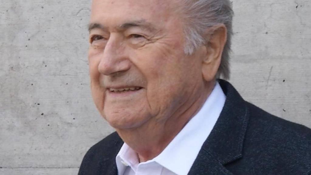 Von seiner Unschuld überzeugt: Sepp Blatter