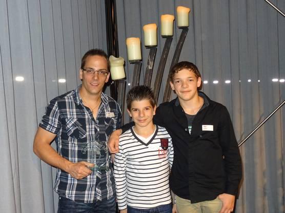 Charly Zimmerli, Luca Murabito, Noe Seifert