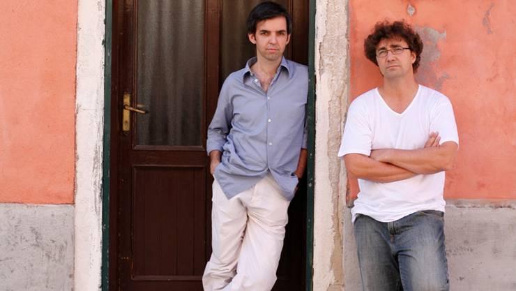 Die ETH-Professoren Alfredo Brillembourg (rechts) und Hubert Klumpner forschen und lehren auf dem Gebiet des informellen Urbanismus.