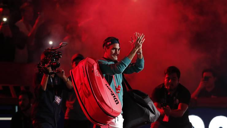 Auch in Mexiko-City wurde Roger Federer frenetisch gefeiert
