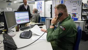 Die Operationszentrale der Schweizer Luftwaffe in Wangen-Brüttisellen.