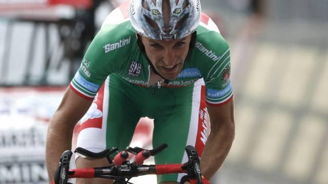 Stefano Garzelli sprintet zum Gesamtsieg