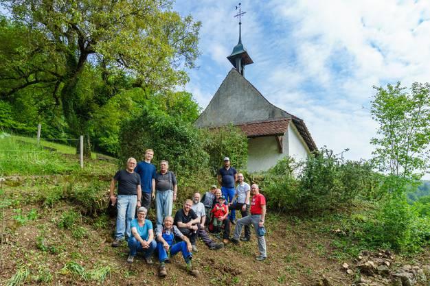 Die Truppe der freiwillig Helfenden (es fehlen Anni Egli und Armin Geissbühler)