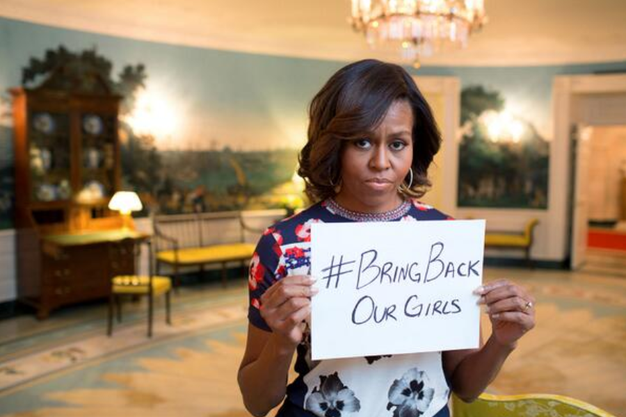 Michelle Obama Bring back our girls.PNG