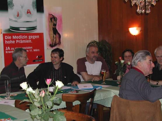 2007 an einer Veranstaltung in Flumenthal