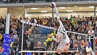 Volley Schönenwerd konnte sich gegen Luzern mit 3:1 durchsetzen.