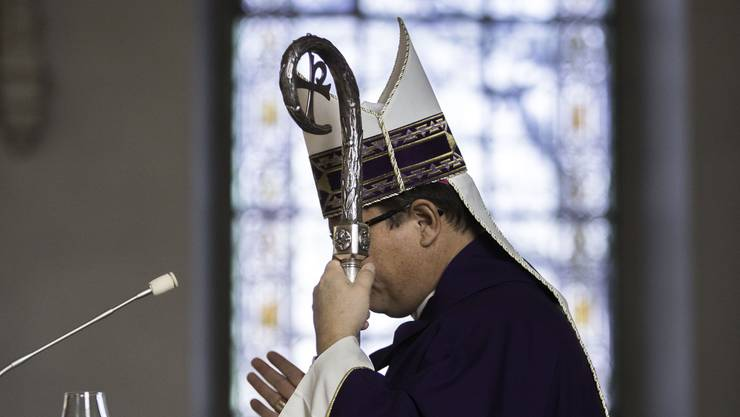 Wusste von den Verfehlungen des Riehener Pfarrkandidaten: Bischof Felix Gmür.