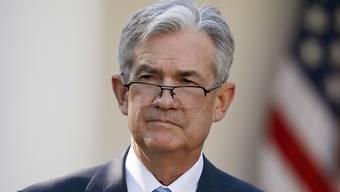Der neue Chef der US-Notenbank Jerome Powell will allfällige Wirtschaftskrisen energisch bekämpfen. (Archivbild)