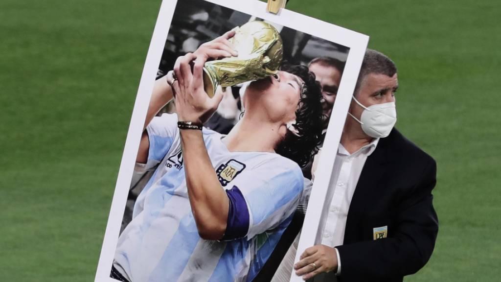 Diego Maradona war ein Teamplayer der Sonderklasse