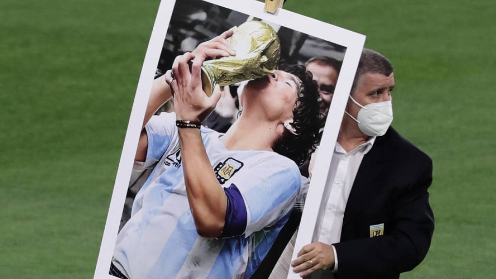 Diego Maradonas grösster Moment: Weltmeister mit Argentinien