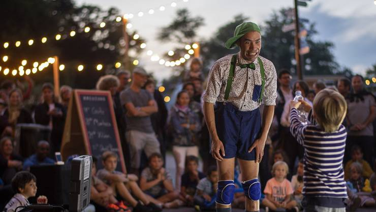 Auch die kostenlosen Aufführungen auf der Landiwiese zogen viel Publikum an.