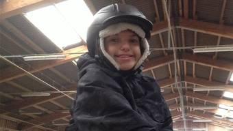 Dank der Kinderspitex Nordwestschweiz kann Noah reiten gehen.