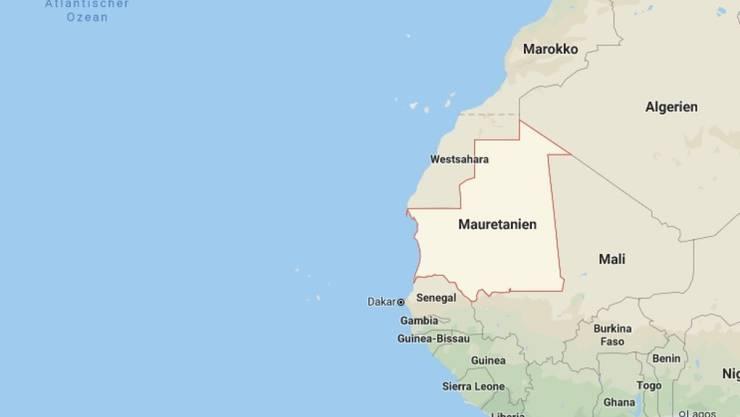 Das Boot mit rund 150 Migranten an Bord sank vor der Küste Mauretaniens im Atlantik.