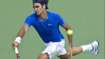 Federer bei seinem ersten Auftritt in Montreal