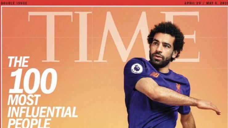 Mohamed Salah ziert das Cover des «Time Magazin».