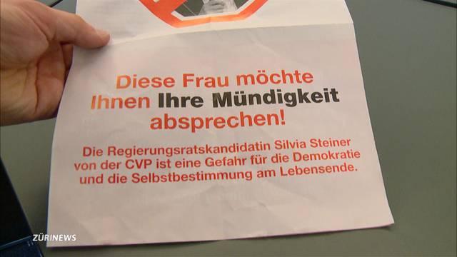 Dignitas-Gründer Minelli wegen Flyer-Aktion vor Gericht