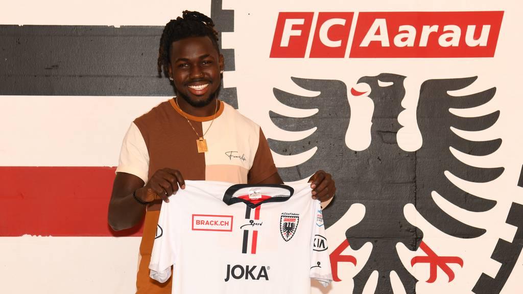 FC Aarau nimmt Allen Njie unter Vertrag