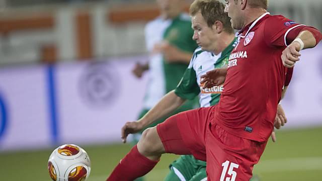Einen Schritt schneller: Torschütze Marco Schneuwly.