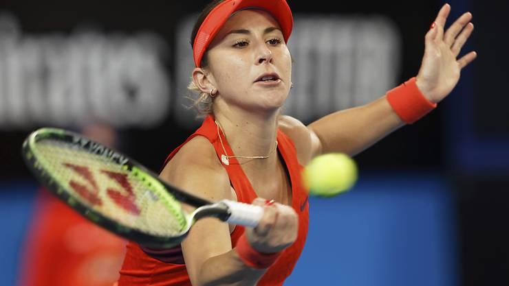 Belinda Bencic spielt sich im Hinblick auf das Australian Open in Melbourne in Form und steht beim Turnier in Hobart in den Halbfinals