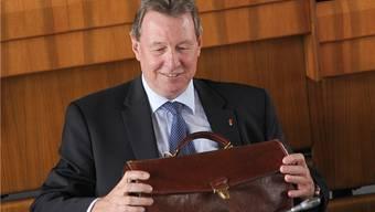 Gute Miene zum bösen Spiel: Regierungsrat Zwick (CVP),