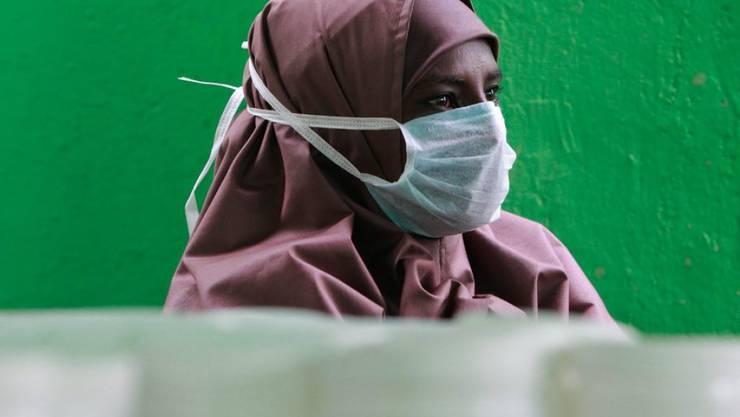 Tuberkulose-Patientin in Kenia. (Archivbild)