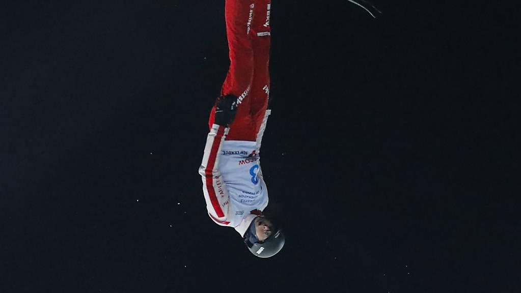 Noé Roth sprang in Moskau zum zweiten Mal auf das Podest.