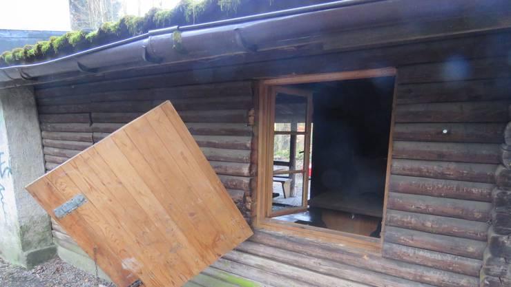 Waldhütte in Baden